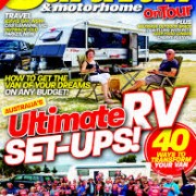 Caravan and Motorhome front page